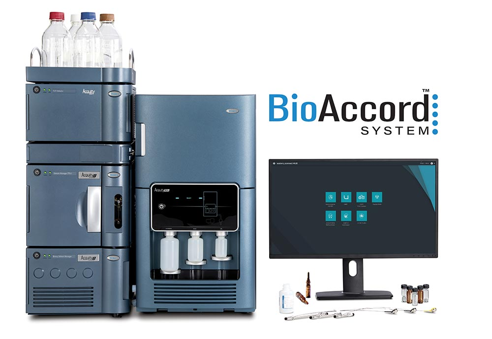 BioAccord LC-MS System for Biopharmaceuticals Hero Shot with Logo Sized